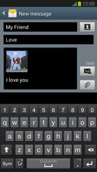Samsung N7100 Galaxy Note II - MMS - Sending pictures - Step 13