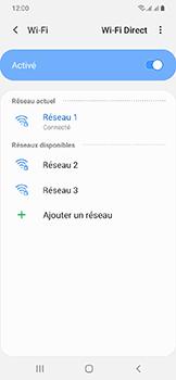 Samsung Galaxy A20e - Wifi - configuration manuelle - Étape 8