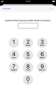 Apple iPhone 6s Plus - iOS 13 - Operazioni iniziali - Come abilitare il pin della SIM - Fase 6