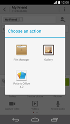 Huawei Ascend P6 LTE - MMS - Sending pictures - Step 12