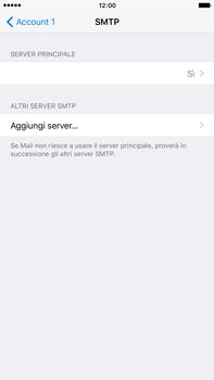 Apple iPhone 6 Plus iOS 9 - E-mail - configurazione manuale - Fase 19