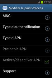 Samsung Galaxy Fame Lite - MMS - Configuration manuelle - Étape 15