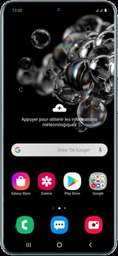 Samsung Galaxy S20 Ultra - Premiers pas - Configurer l