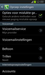 Samsung S7710 Galaxy Xcover 2 - Voicemail - Handmatig instellen - Stap 6