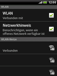 HTC Wildfire - WLAN - Manuelle Konfiguration - 9 / 10