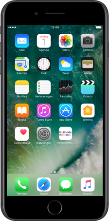Apple iPhone 5 (iOS 9) - apps - hollandsnieuwe app gebruiken - stap 2