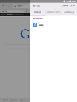 Samsung Galaxy Tab A 9.7 - Internet - Navigation sur Internet - Étape 8