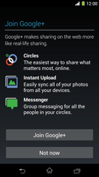 Sony Xperia Z1 - Applications - Setting up the application store - Step 16