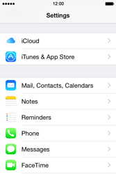 Apple iPhone 4 S - iOS 8 - Email - Manual configuration POP3 with SMTP verification - Step 3