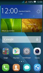 Huawei Y3 - WLAN - Manuelle Konfiguration - Schritt 2