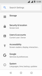Nokia 1 - Device - Factory reset - Step 5