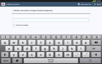 Samsung P5220 Galaxy Tab 3 10-1 LTE - E-Mail - Konto einrichten - Schritt 6