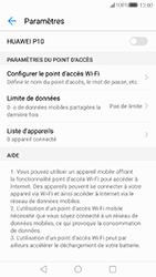 Huawei P10 - Internet et connexion - Partager votre connexion en Wi-Fi - Étape 6