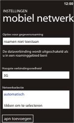 Nokia Lumia 900 - netwerk en bereik - gebruik in binnen- en buitenland - stap 6