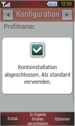 Samsung S5230 Star - MMS - Automatische Konfiguration - Schritt 7