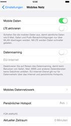 Apple iPhone 6 Plus - iOS 8 - Internet und Datenroaming - Manuelle Konfiguration - Schritt 5