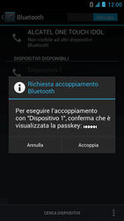 Alcatel One Touch Idol - Bluetooth - collegamento dei dispositivi - Fase 8