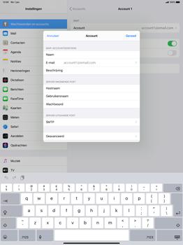 Apple iPad Pro 12.9 inch 4th generation (2020) (Model A2232) - E-mail - Instellingen KPNMail controleren - Stap 9