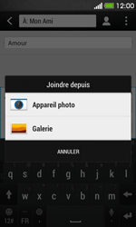 HTC Desire 500 - MMS - Envoi d