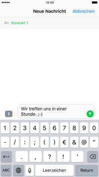 Apple iPhone 6 Plus - iOS 10 - MMS - Erstellen und senden - Schritt 10