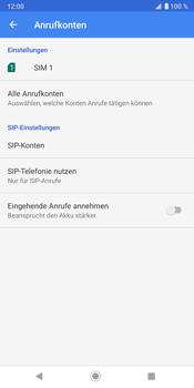 Sony Xperia XZ3 - Anrufe - Rufumleitungen setzen und löschen - Schritt 7