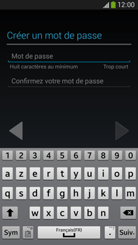Samsung Galaxy Note 3 - Applications - Créer un compte - Étape 10