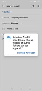 Huawei P30 Pro - E-mail - envoyer un e-mail - Étape 11