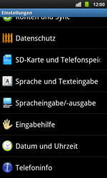 Samsung Galaxy S Plus - Fehlerbehebung - Handy zurücksetzen - 6 / 10