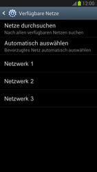 Samsung Galaxy S III - Netzwerk - Manuelle Netzwerkwahl - Schritt 9