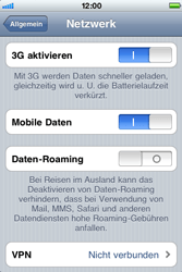 Apple iPhone 3G - Ausland - Im Ausland surfen – Datenroaming - 7 / 9