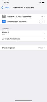Apple iPhone XR - E-Mail - Konto einrichten - 28 / 30