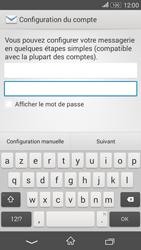 Sony Xperia E4g - E-mails - Ajouter ou modifier un compte e-mail - Étape 6