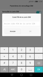 Huawei P9 - Sécuriser votre mobile - Personnaliser le code PIN de votre carte SIM - Étape 8