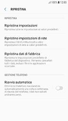 Samsung Galaxy J3 (2017) - Dispositivo - Ripristino delle impostazioni originali - Fase 7