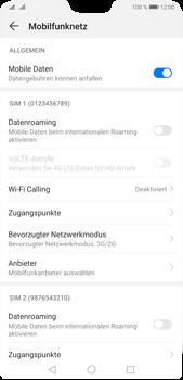 Huawei P20 Pro - Android Pie - Netzwerk - So aktivieren Sie eine 4G-Verbindung - Schritt 5