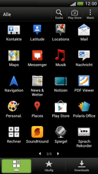 HTC One S - Apps - Konto anlegen und einrichten - 3 / 23