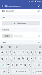 HTC U Play - Contact, Appels, SMS/MMS - Ajouter un contact - Étape 7