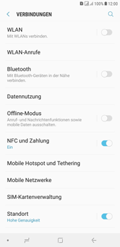Samsung Galaxy J4+ - WLAN - Manuelle Konfiguration - 5 / 10