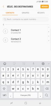 Samsung Galaxy S8 Plus - Android Oreo - MMS - Envoi d