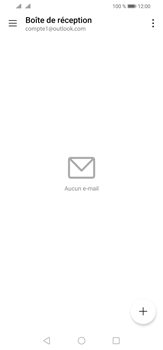 Huawei P30 Lite - E-mail - 032c. Email wizard - Outlook - Étape 4