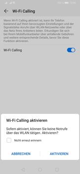 Huawei P30 Pro - WiFi - WiFi Calling aktivieren - Schritt 8