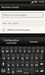 HTC One SV - E-mail - Configuration manuelle - Étape 6