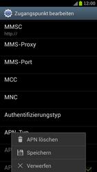 Samsung I9300 Galaxy S III - Internet - Manuelle Konfiguration - Schritt 14