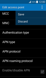 Samsung G355 Galaxy Core 2 - Internet - Manual configuration - Step 15