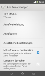 Sony Xperia E1 - Anrufe - Rufumleitungen setzen und löschen - Schritt 5