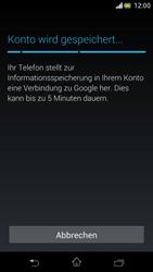 Sony Xperia V - Apps - Einrichten des App Stores - Schritt 22