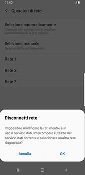 Samsung Galaxy Note9 - Android Pie - Rete - Selezione manuale della rete - Fase 11
