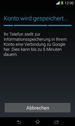 Sony Xperia E1 - Apps - Konto anlegen und einrichten - 17 / 23