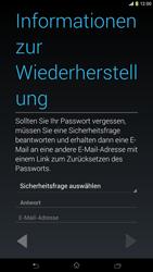 Sony Xperia Z Ultra LTE - Apps - Konto anlegen und einrichten - Schritt 12