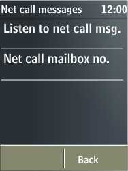 Nokia X3-02 - Voicemail - Manual configuration - Step 6